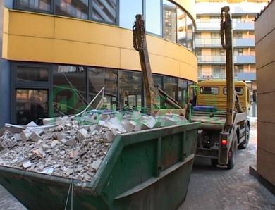 Statybinių šiukšlių konteinerių nuoma Vilniuje